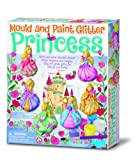 4M Glitter Princess Mould and Paint - Multi-Coloured