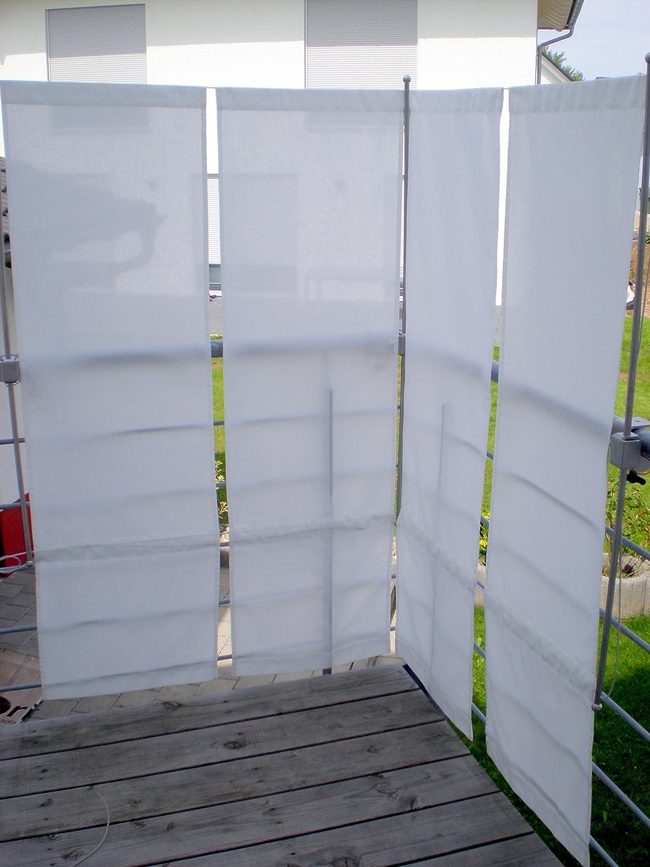 Amazon ParaVue 3 4 Balkonsichtschutz werkzeugfrei 1 50 m hoch