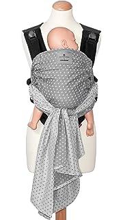 Jaquard-Muster manduca Twist Babytrage  bellybutton Boho Black  Babytrage und Babytragetuch f/ür Neugeborene /& Babys I Bio-Baumwolle I Tr/äger zum Auff/ächern I Weicher Bauchgurt I schwarz-wei/ß