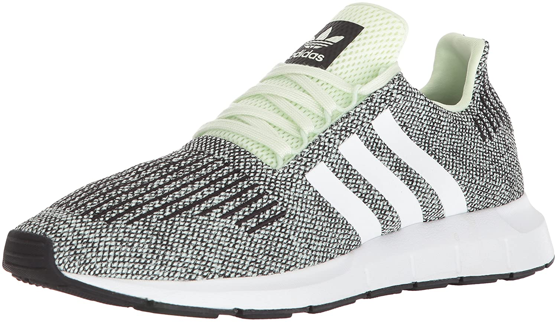 Adidas Men's Swift Running Shoe B075QGBT4J 13 D(M) US|Aero Green S, Ftwr White, Core Black