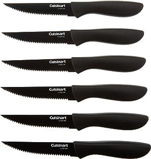 Cuisinart C55 6PCSBK 6 Pc. Ceramic Coated Steak Knife Set (Black)