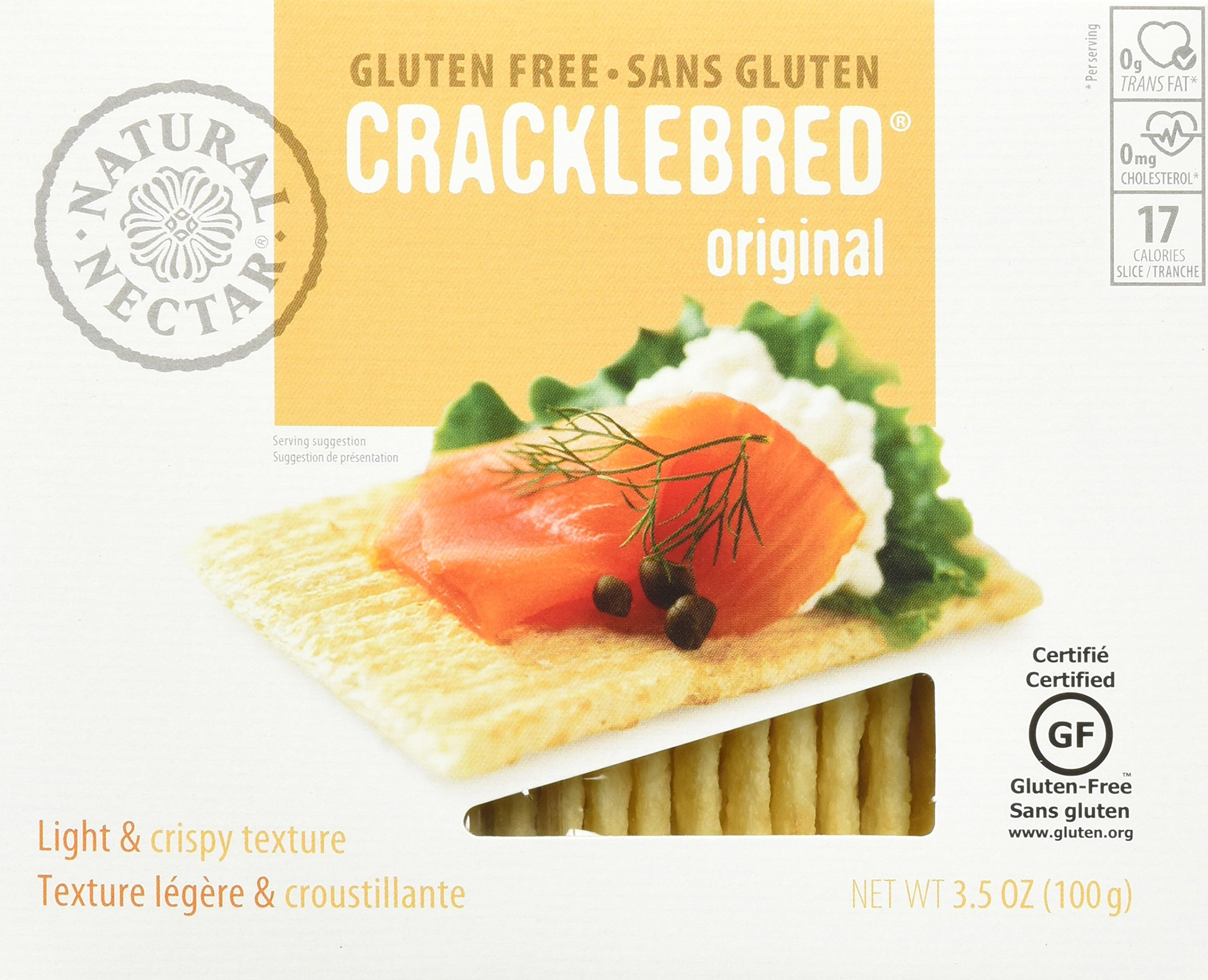 Natural Nectar Tomato Gluten Free Crackle Bred, 0.8 Pound