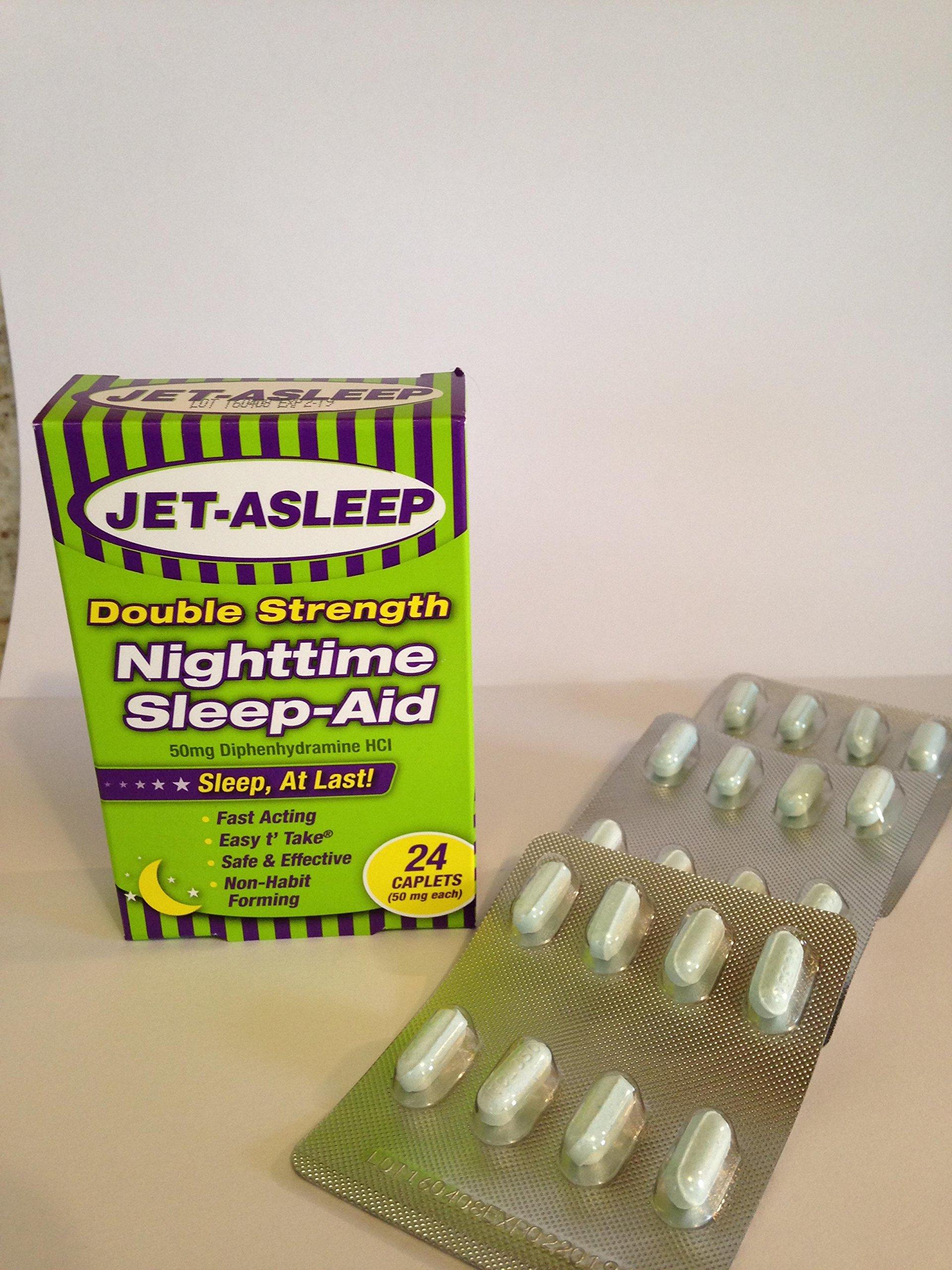 Jet-Asleep Double Strength Nighttime Sleep-Aid 24 count
