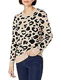 Daily Ritual Amazon Brand Women's Ultra-Soft Jacquard Crewneck Pullover Sweater