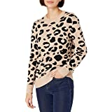Amazon Brand - Daily Ritual Women's Ultra-Soft Jacquard Crewneck Pullover Sweater