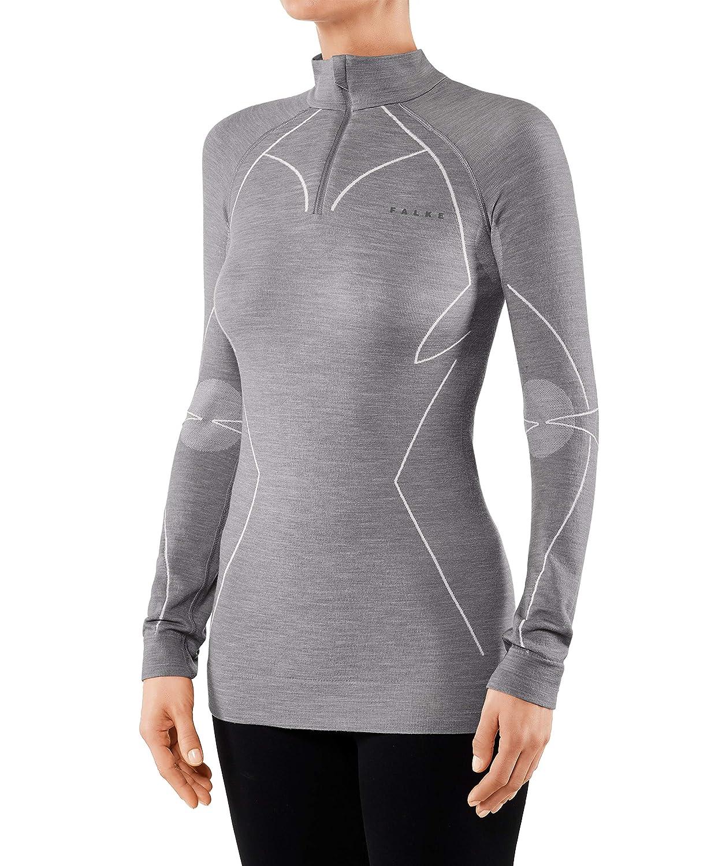 Falke Unterw/äsche Wool Tech Longsleeve Shirt Comfort Intimo Donna