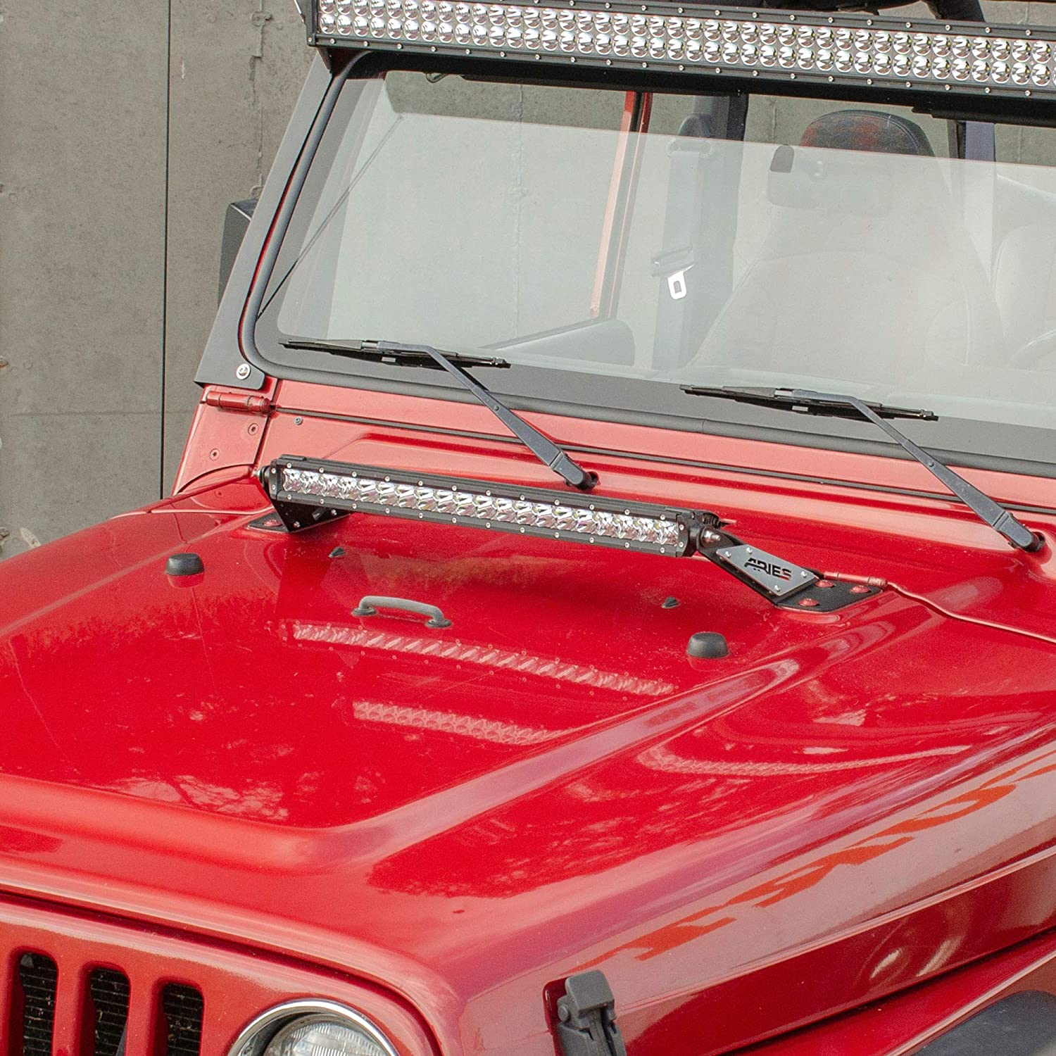 Lights Off Clip *Comes as a Pair* TJ LJ 97-06 Black Mountain Jeep Doors Off
