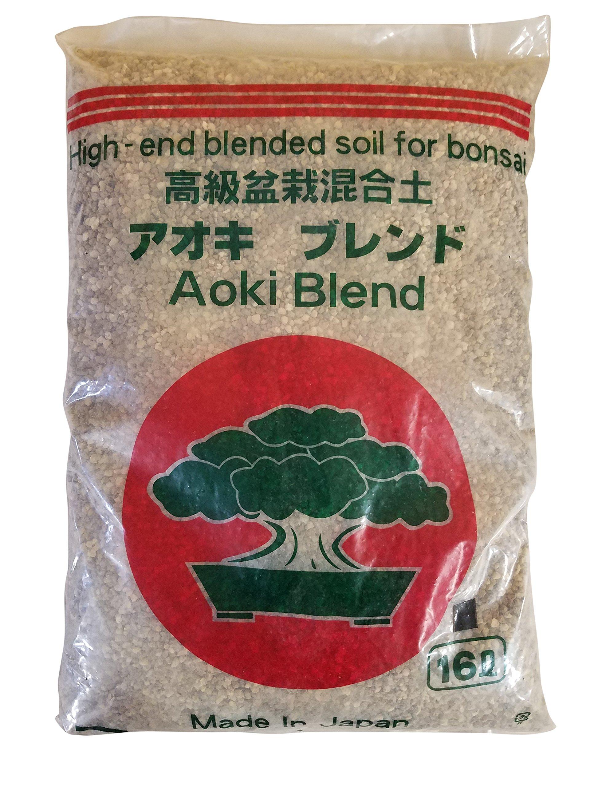 Aoki Conifer Japanese Bonsai Soil Blend Mix Small Size 5mm - 16L