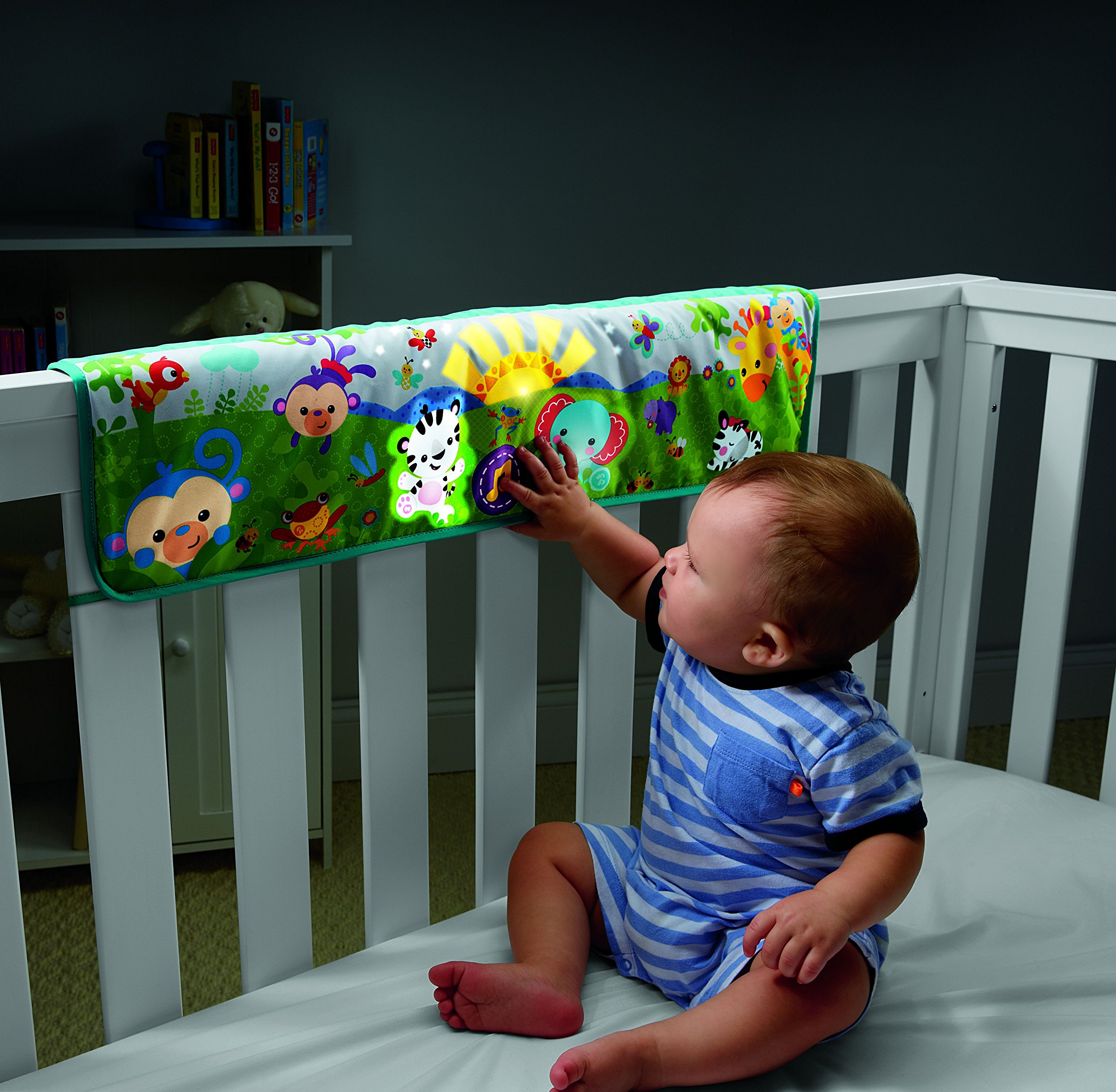 Fisher-Price Twinkling Lights Crib Rail Soother by Fisher-Price (Image #2)