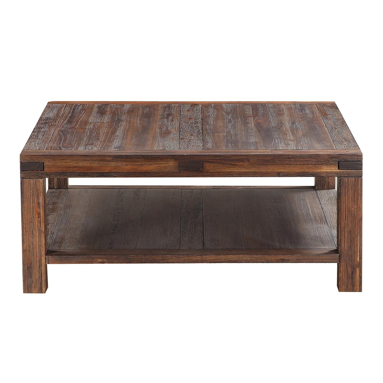 Amazon Modus Furniture 3F4121 Meadow Coffee Table Brick