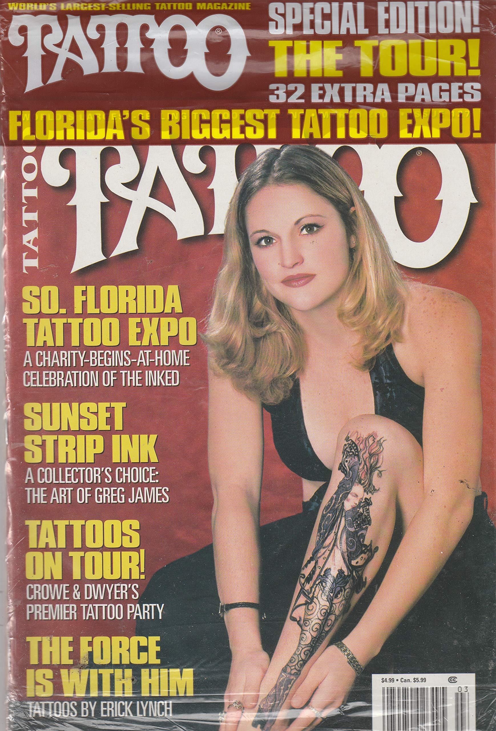 TATTOO Magazine March 2000 No. 127 (World\'s largest selling tattoo ...