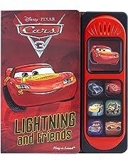 Cars 3 Little Sound Book Lightning McQueen