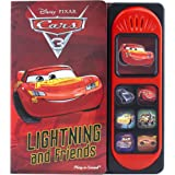 Cars 3 - Lightning McQueen and Friends Little Sound Book - Play-a-Sound - PI Kids