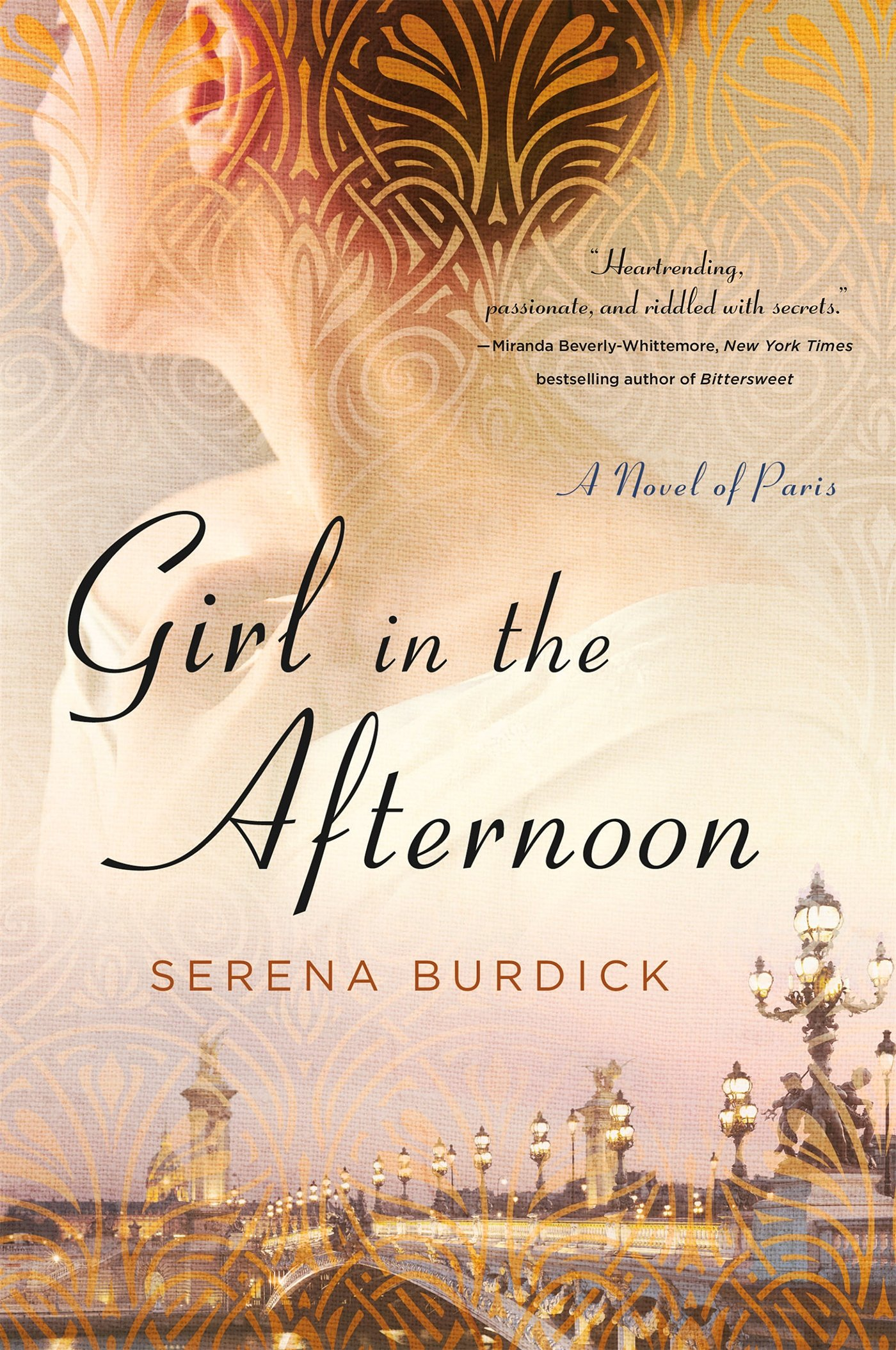 in the afternoon a novel of paris serena burdick