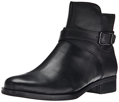 Ecco Online Women'S Ecco Black Leather Ankle Zippered Boots Eur 41 Us 9 5
