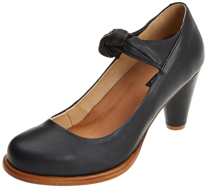 TALLA 39 EU. Neosens S938 Suave Black/Beba, Zapatos con Tacon y Correa de Tobillo para Mujer