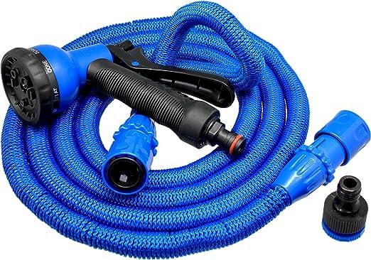 Xpansy Hose Pro C2607B Manguera Extensible con la Presión del Agua, Azul, 7, 5 metros: Amazon.es: Jardín