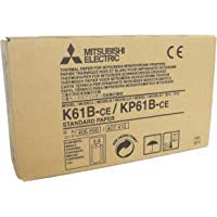 Mitsubishi Electric Corporation k61b-ce/kp61b-ce Kit papel térmico