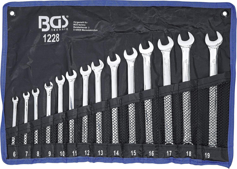 Ringmaulschlüssel SW19 BGSMaul-Ringschlüssel 19mm BGS Maul Ringschlüssel
