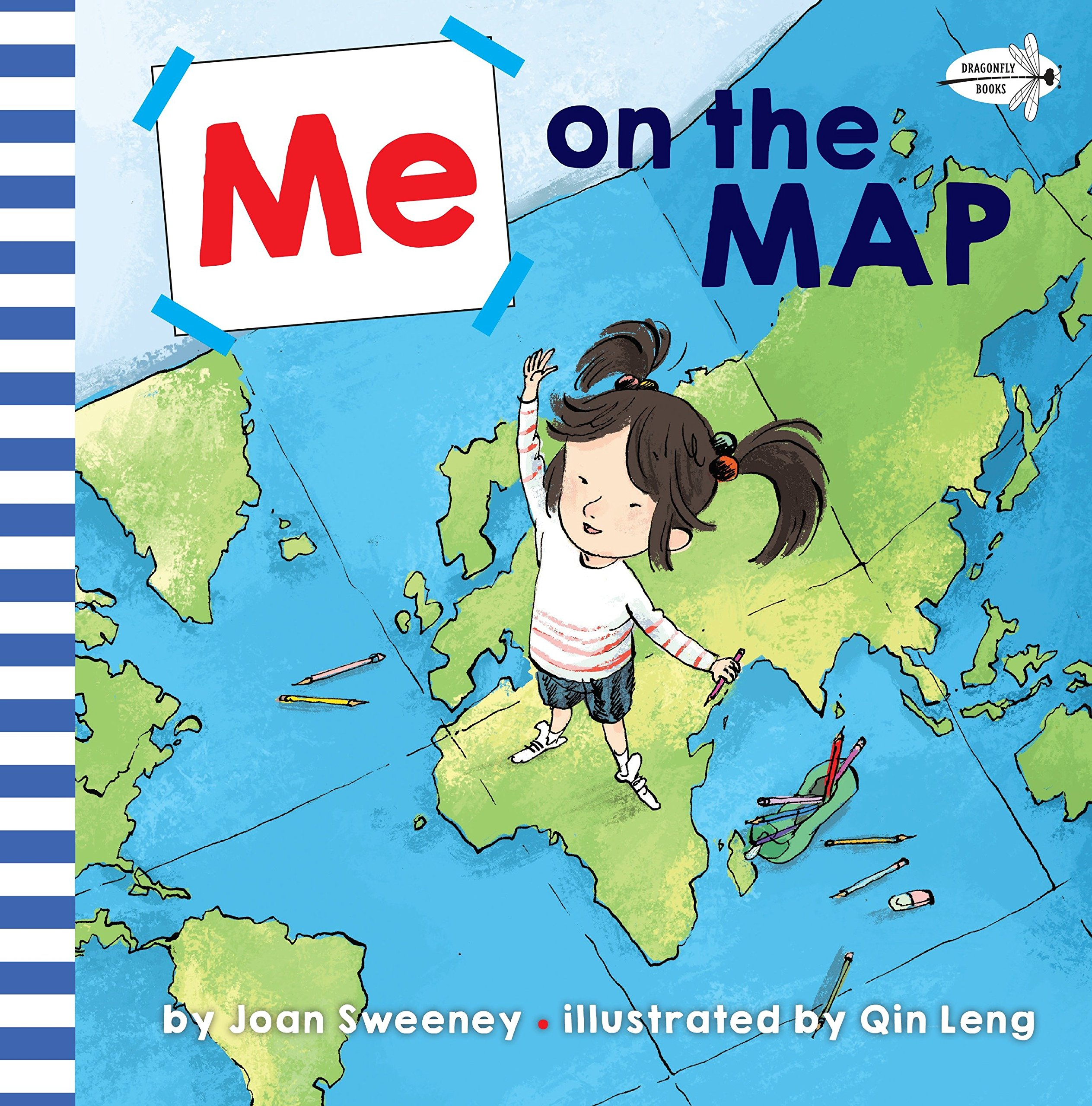 Show Me On The Map Me on the Map: Joan Sweeney, Qin Leng: 9781524772017: Amazon.