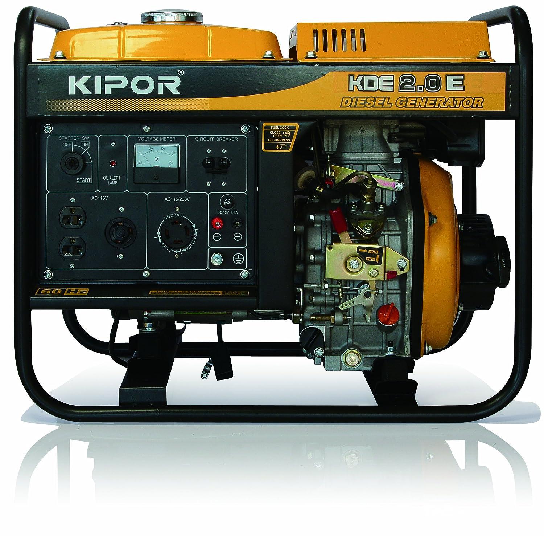 KIPOR ディーゼルエンジン発電機 KDE2.0E(60Hzモデル) 西日本地域専用 B00F5P4EFC