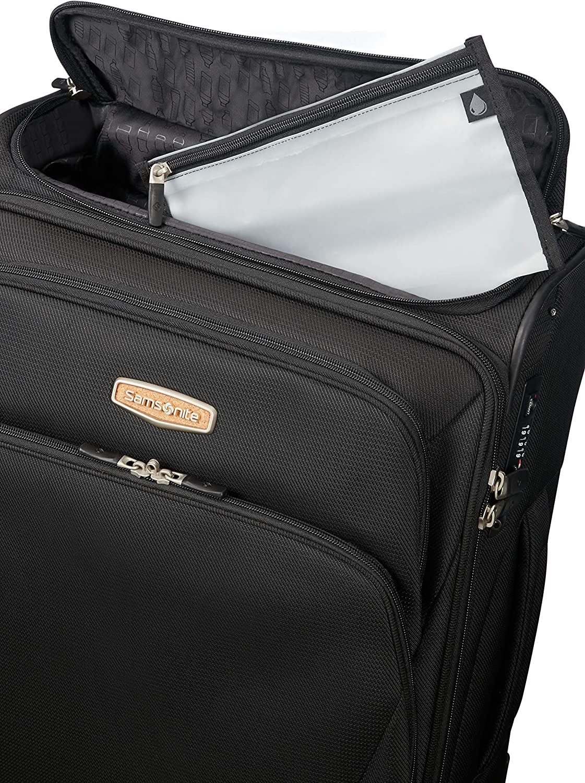 SAMSONITE Spark Sng Eco Upright 55 Expandable Toppocket Hand Luggage Eco Black 57 liters cm Black