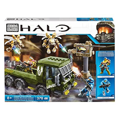 Mega Bloks Halo Covenant Drone Outbreak Building Set: Toys & Games