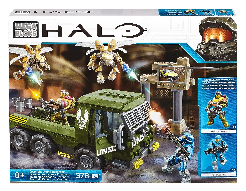 ventas de salida Halo - Ataque de los Drones Covenant, Jugarset (Mattel (Mattel (Mattel CND03)  alta calidad y envío rápido