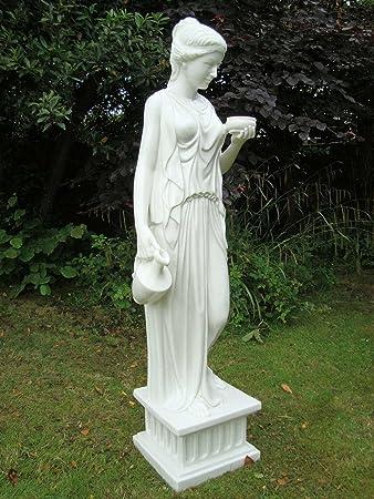 large garden statues ornament art hebe sculpture - Large Garden Statues