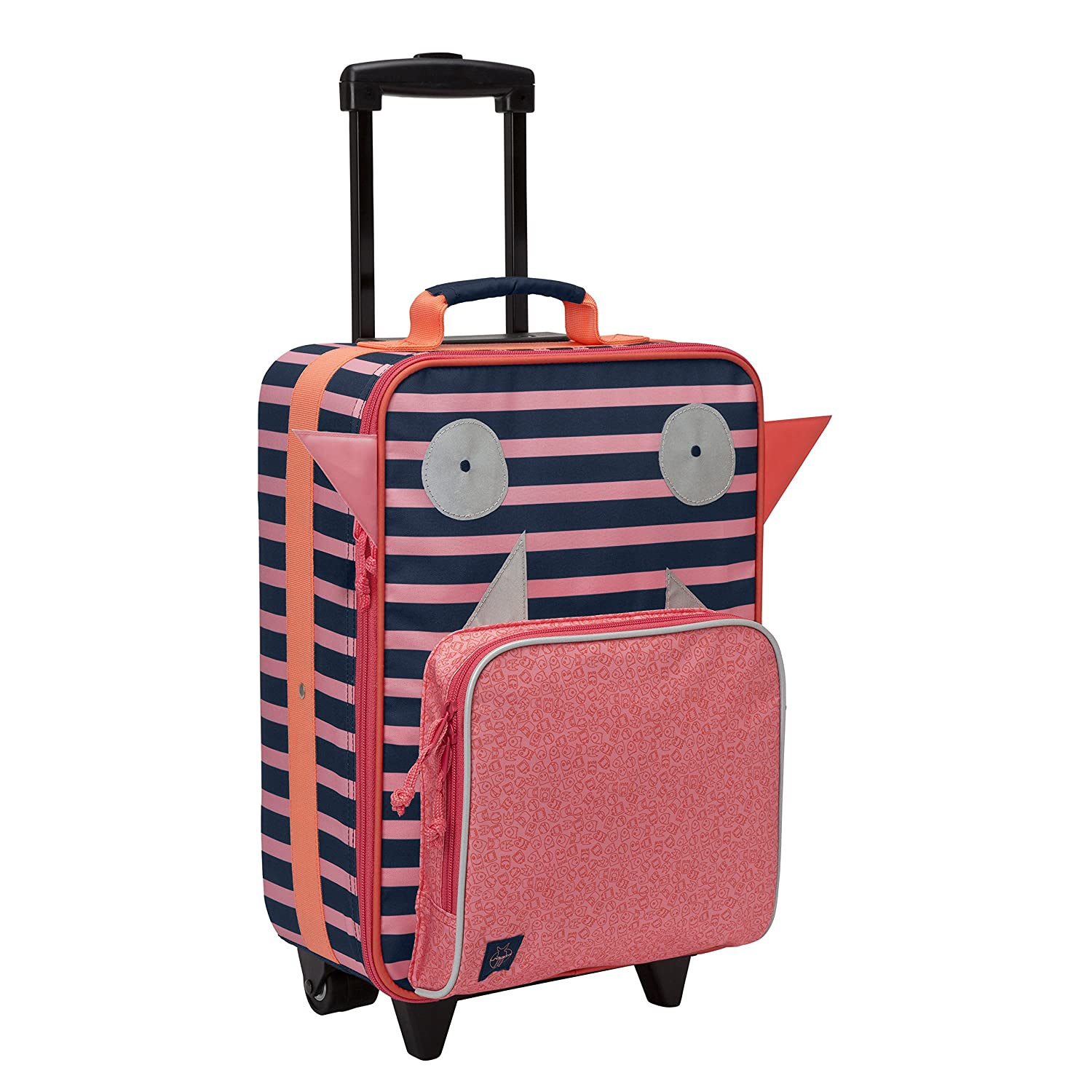 Lassig Kids Travel Trolley Kids Suitcase, Mad Mabel LMTR1192