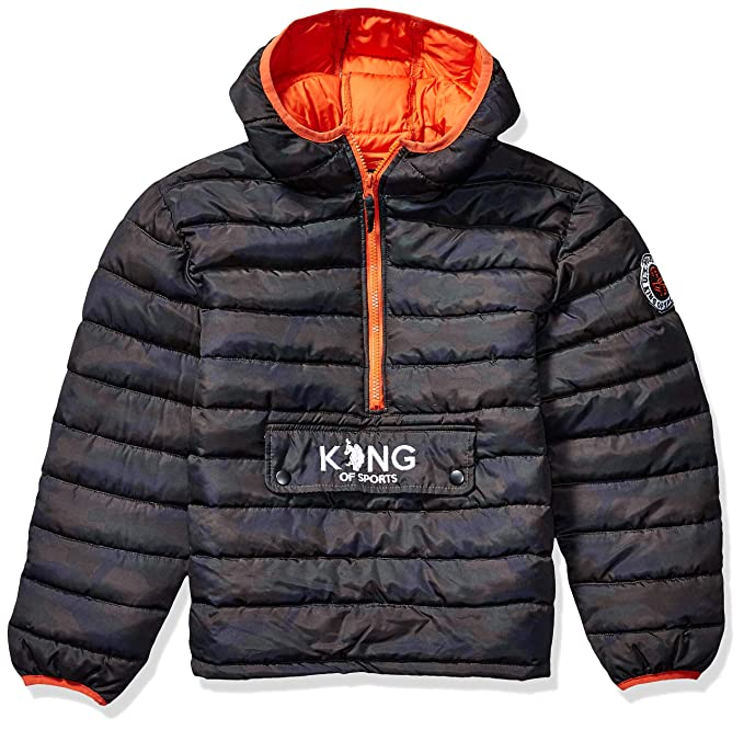 U.S More Styles Available Polo Assn Big Boys Outerwear Jacket