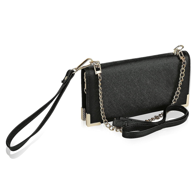 MKF Collection by Mia K Farrow 2 in 1 Lauren Wallet//Wristlet//Shoulder Bag