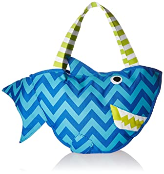 Amazon.com : Mud Pie Surf's Up Beach Bag with Toys, Shark : Baby ...