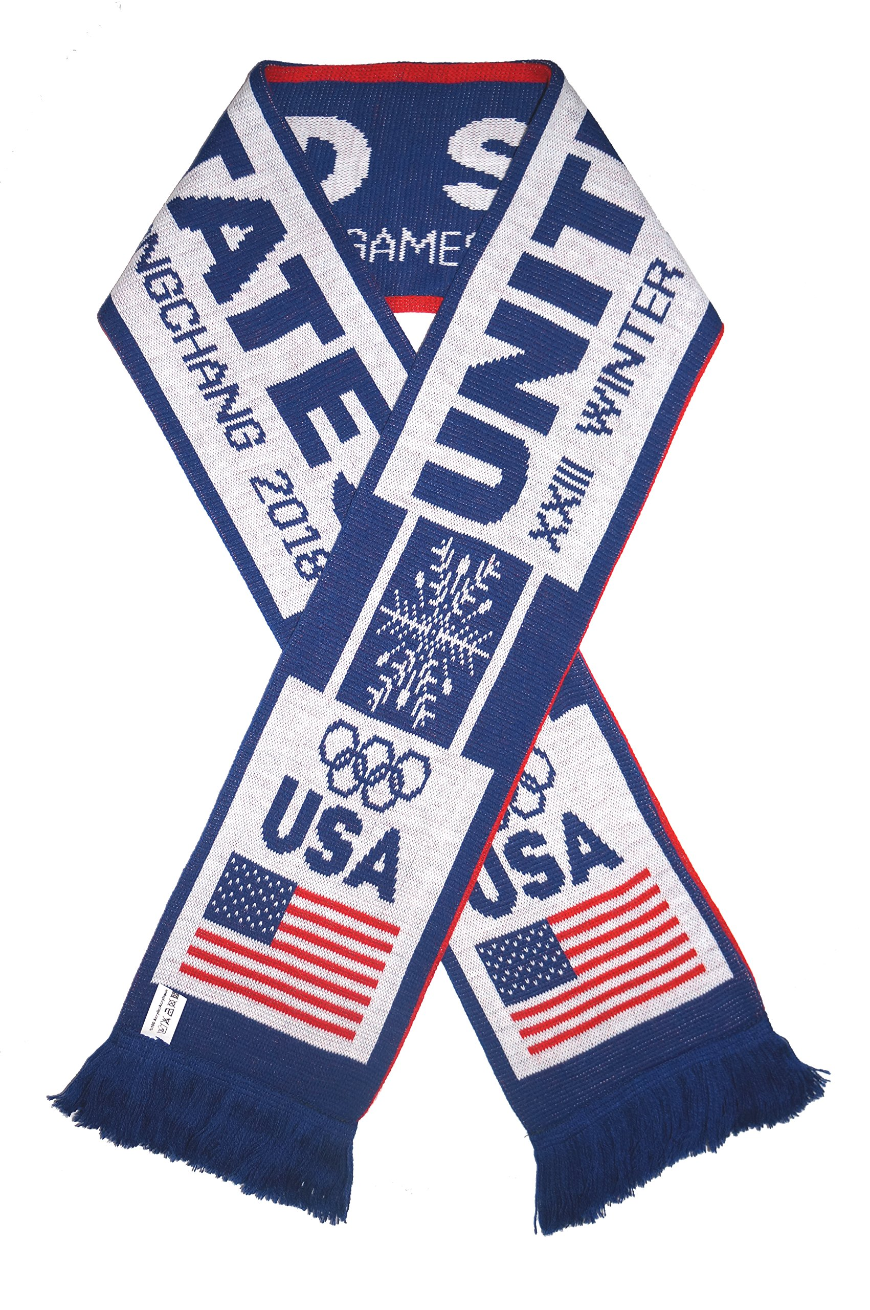 USA 2018 Olympic Winter Games Champions Favorite Scarf