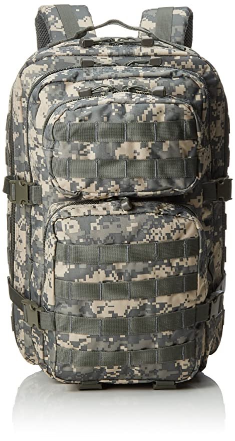 724f8ae9a6634 Amazon.com : Mil-Tec Military Army Patrol Molle Assault Pack Tactical  Combat Rucksack Backpack Bag 36L ACU Digital Camo : Sports & Outdoors