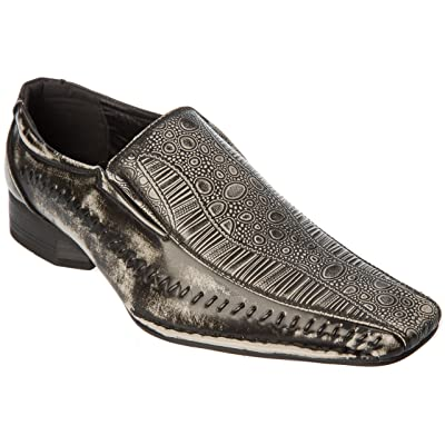 Alfa Mens Oxfords-Shoes Slip On Loafers Fashion Dress Shoes