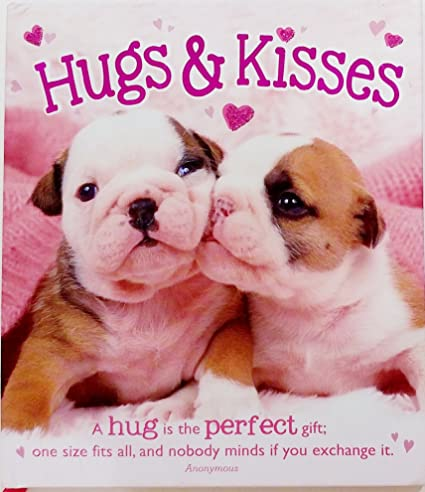 Amazoncom Hugs Kisses W Adorable Puppy Dogs Happy