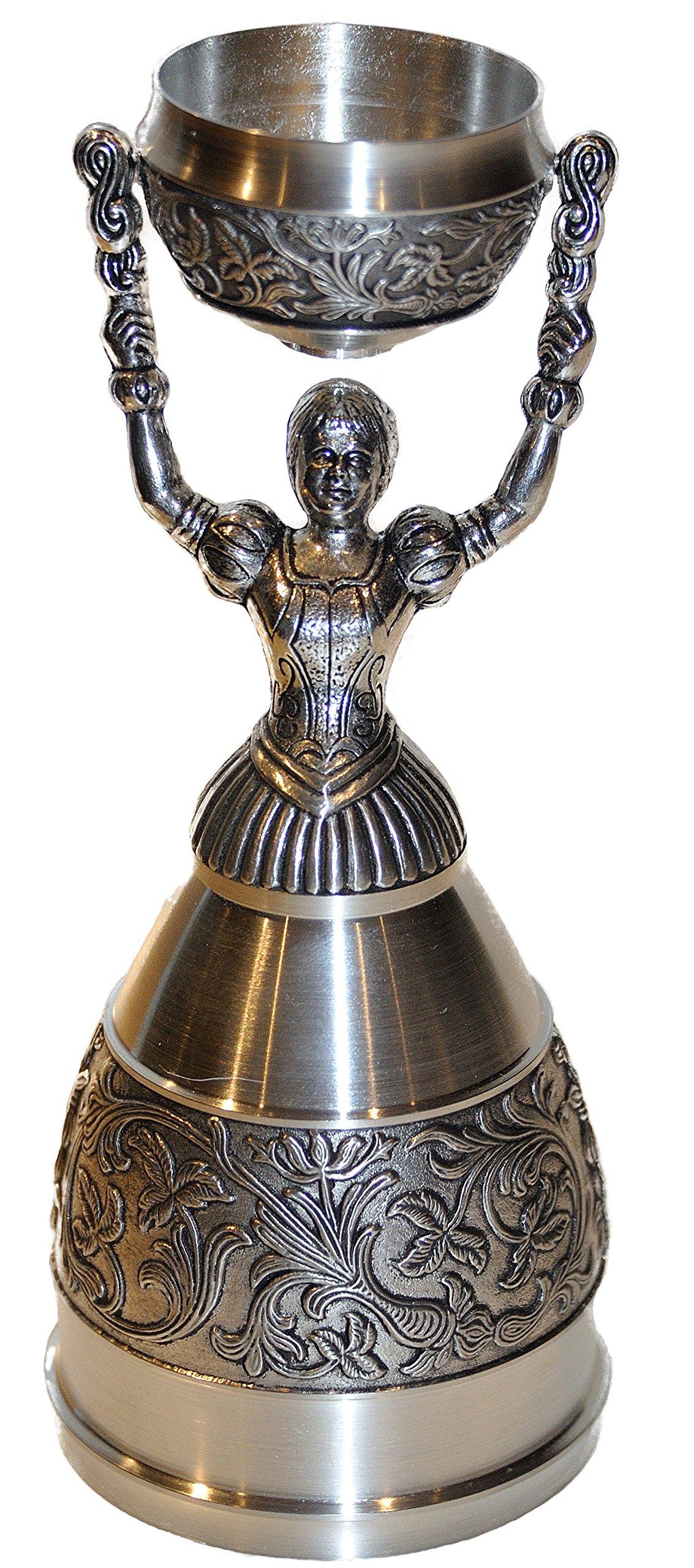 Nuremberg Bridal Cup (aka.. Nuremberg Wedding Cup) Full Pewter by KING
