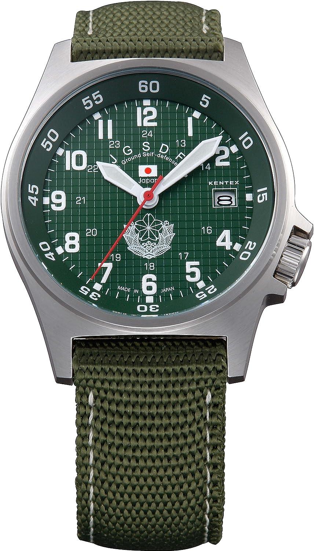 Amazon.com: Kentex watch JSDF model S 455M-01 ground SDF standard model: Watches