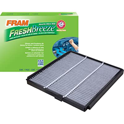 FRAM CF8813A Fresh Breeze Cabin Air Filter with Arm & Hammer: Automotive