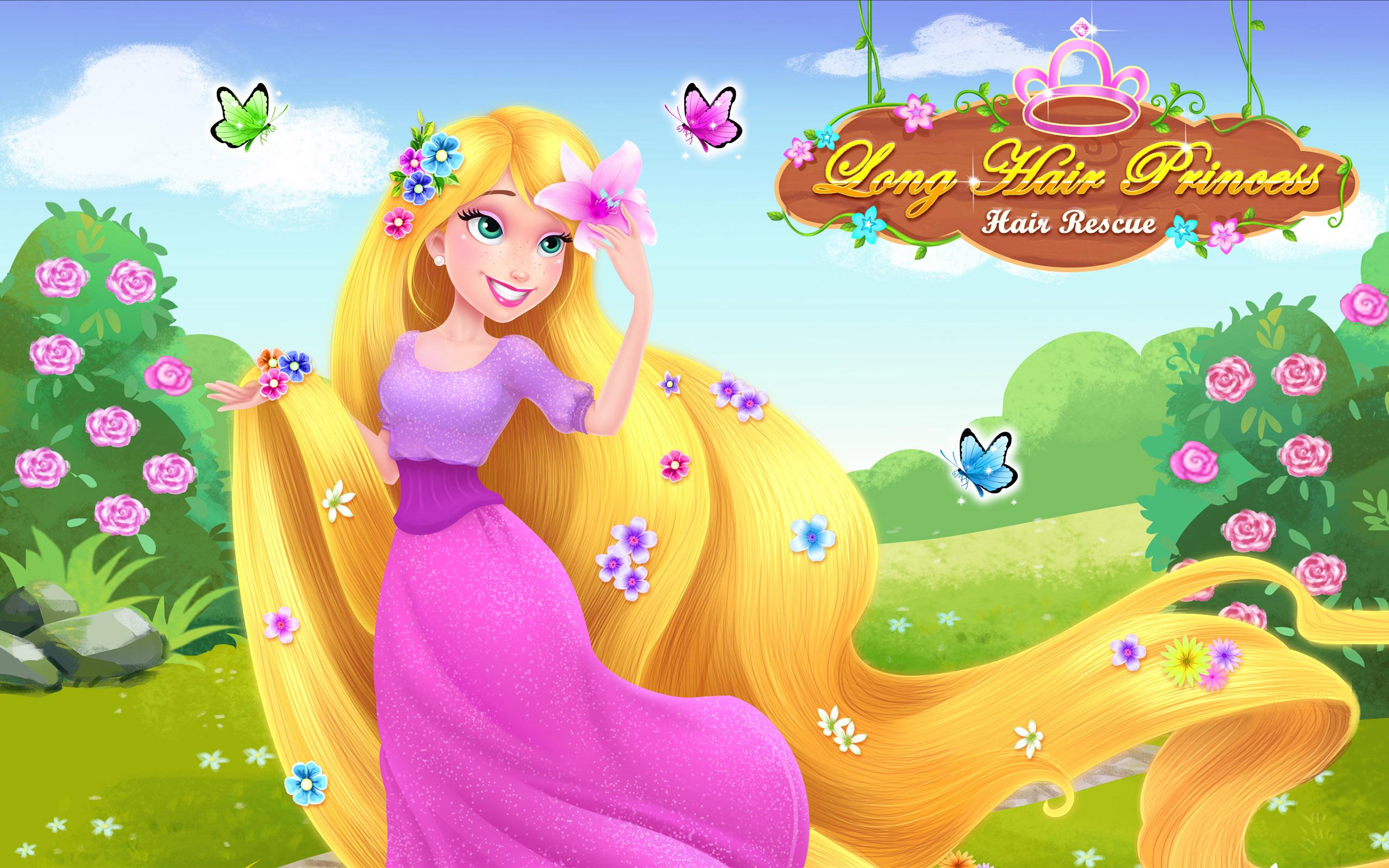 long hair princess - prince rescue