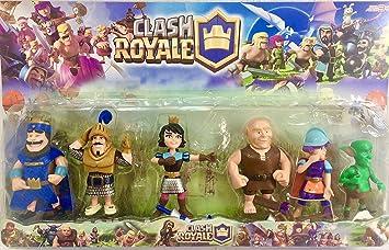 Lote de 6 Figuras inspiradas en Clash of Clans . 12 Cms..