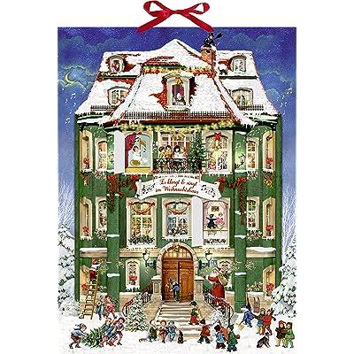 Alison Gardiner Victoriano The Coppenrath Musical calendario de adviento gran cartón calendario de adviento con 24?Puertas que se ouvrent: Hogar