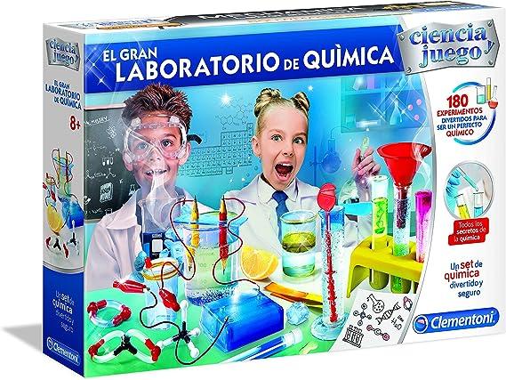 Clementoni - Ciencia y Juego El Gran Laboratorio de Química (55323): Amazon.es: Juguetes y juegos