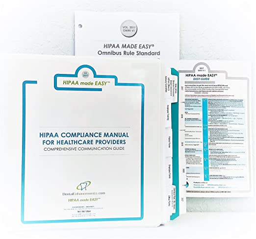 Hipaa Compliance Manual - Good Owner Guide Website •