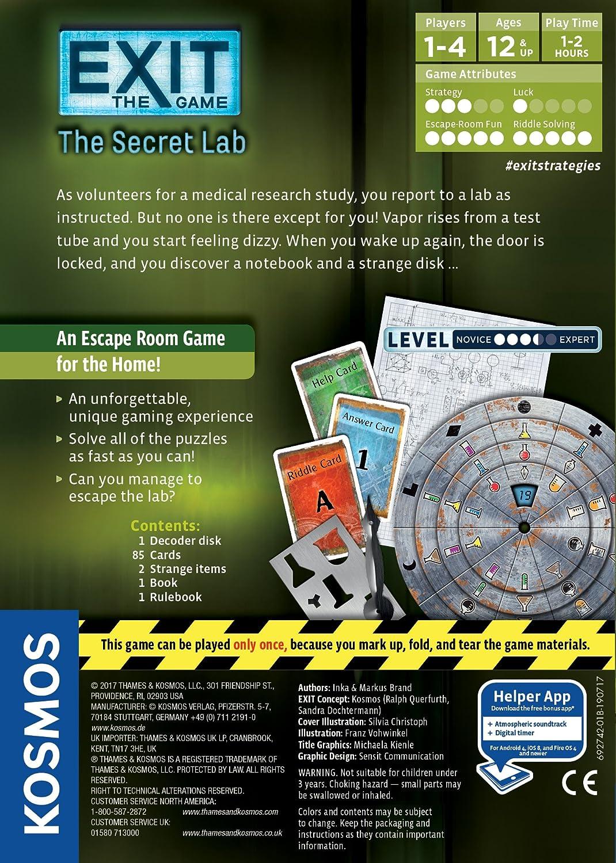 El laboratorio secreto [Version en Ingles]: Amazon.es: Juguetes y ...