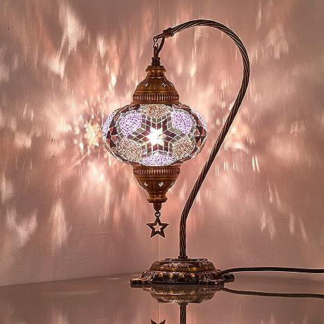 Amazon.com: Lámpara CopperBull con tulipa hecha a ...