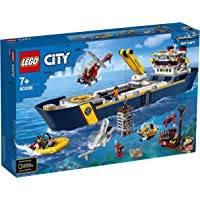 LEGO City Oceans 60266 Ocean Exploration Ship Building Kit (745 Pieces)