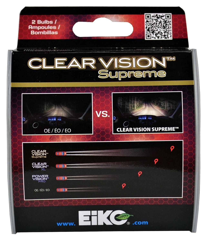 Amazon.com: EiKO H755CVSU2 H7 55W Clear Vision PRO Halogen Bulb, (Pack of 2): Automotive