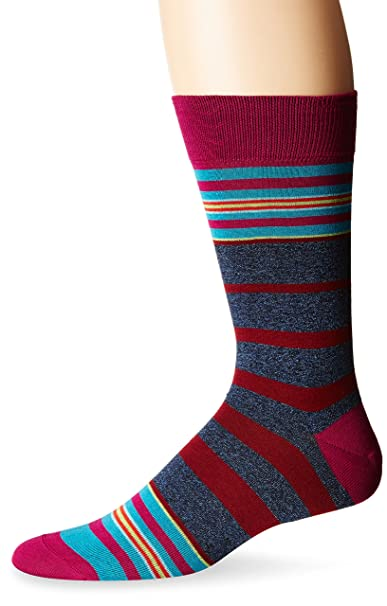 Bugatchi Hombres Giosue Fashion Sock Calcetines de vestir - Multi -: Amazon.es: Ropa y accesorios
